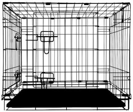 Клетка для собак Triol 004-К Yongli 91.5x62x70