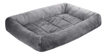 Лежанка для кошек и собак Дарэлл 30x40x8см серый