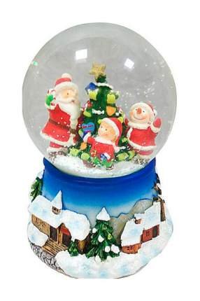 Снежный шар Новогодняя сказка Новогодний хоровод 10 см 972479