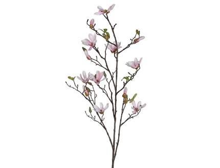 Ветка Магнолии светло-розовая 110 см 1009099
