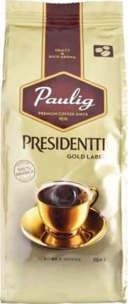 Кофе в зернах Paulig presidentti gold label 250 г