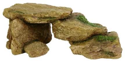 Грот для аквариума TRIXIE Rocks Камни, полиэфирная смола, 7,5х15,5х5,5 см