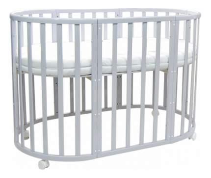 Кровать Everflo 7 в 1 Allure с маятником gray