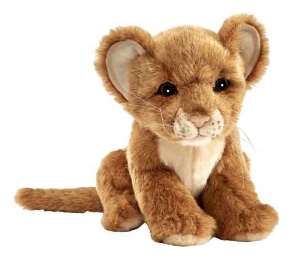 Мягкая игрушка Hansa Львенок 7290 17 см коричневый
