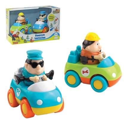 Спасательные машинки: техническая помощь + полиция Happy Kid Toy 222G