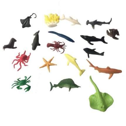 Набор Морские животные 18 шт. Shantou Gepai 635667