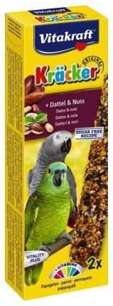 Лакомства для птиц Vitakraft Крекеры для крупных попугаев фруктовые с орехами 180 г 21290