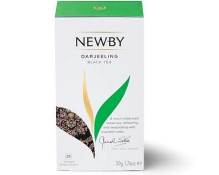 Чай черный Newby darjeeling 25 пакетиков