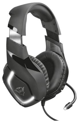 Игровые наушники Trust GXT 380 Doxx Black