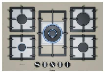 Встраиваемая варочная панель газовая Bosch PPQ7A8B90R Grey