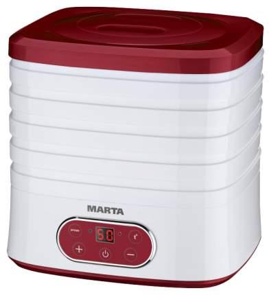 Сушилка для овощей и фруктов MARTA MT-1944 white/red