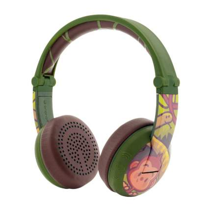 Беспроводные наушники BuddyPhones Wave Monkey Green