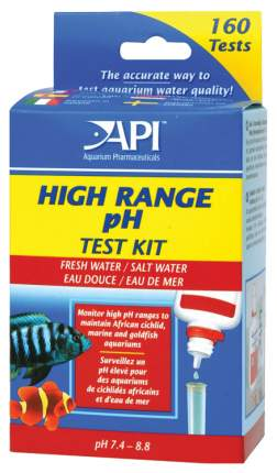 Тест API Hige Range pH 7,4-8,8 Test Kit 160 измерений