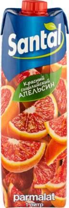 Напиток сокосодержащий Santal красный сицилийский апельсин 1 л