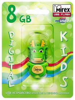 USB-флешка MIREX Dragon 8GB Green (13600-KIDGDR08)