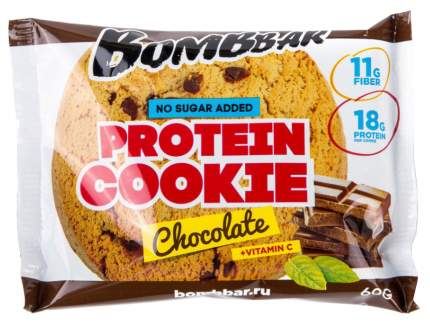 Протеиновое печенье Bombbar 60 г шоколад
