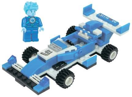 Конструктор пластиковый Город игр Фиксики Транспорт Формула 1 синяя GI-6262