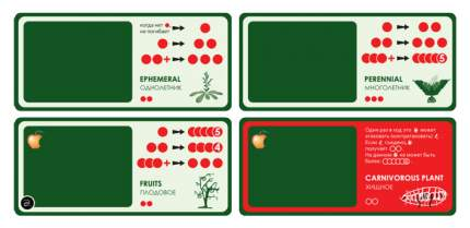 Семейная настольная игра PlayLand Эволюция Растения