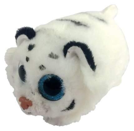 Мягкая игрушка ABtoys Тигренок белый, 10 см
