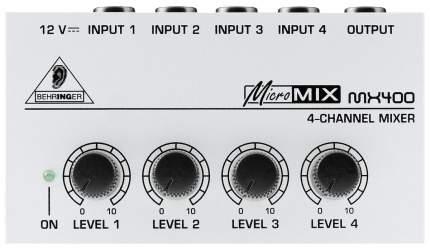 Микшерный пульт Behringer Micromix MX400