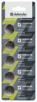 Батарейка Defender CR2032 5 шт
