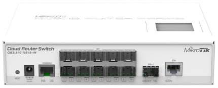 Коммутатор Mikrotik CRS212-1G-10S-1S+IN 10-портовый