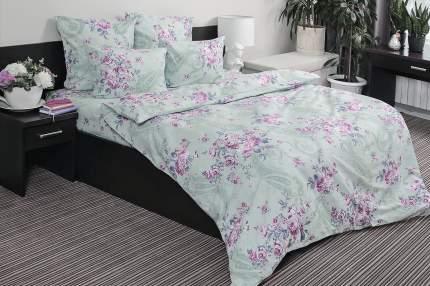 Комплект постельного белья Ночь нежна Dzhejn Цвет: Зелёный (1,5 спальное)