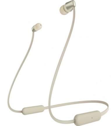 Беспроводные наушники Sony WI-C310 Beige