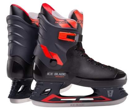 Коньки хоккейные Ice Blade Boost красные/черные, 38