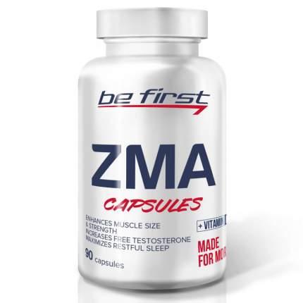 Be First ZMA + vitamin D3 (90 капсул) - магний цинк витамины для мужского здоровья