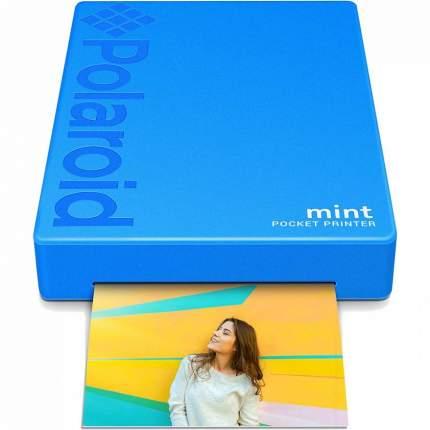 Компактный фотопринтер Polaroid Mint Blue