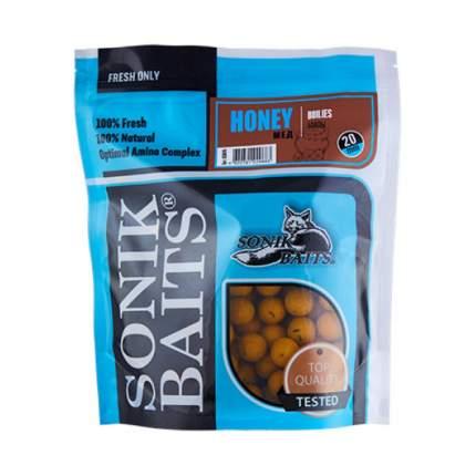 "Бойлы тонущие Sonik Baits ""Honey"", 20 мм, 0,75 кг"