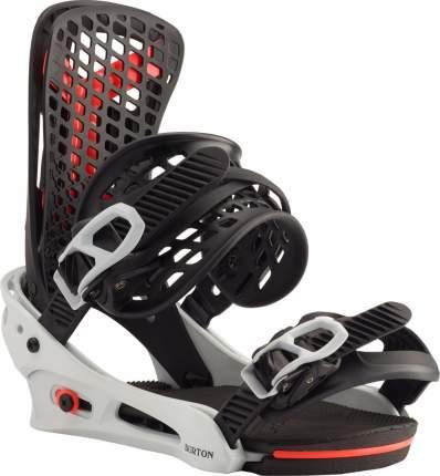 Крепления для сноуборда Burton Genesis 2020, черные, L