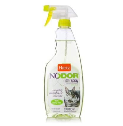 Уничтожитель запаха от животных Hartz Nodor Litter Spray, с ароматизатором,503мл