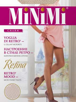 Колготки женские MiNiMi бежевые 3-4/M-L