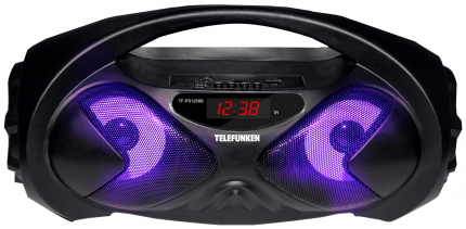 Магнитола Telefunken TF-PS1258B Black