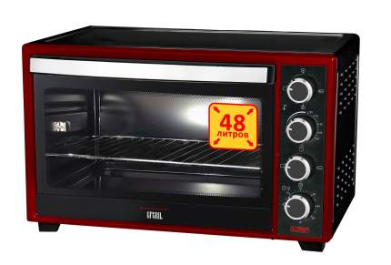 Мини-печь GFGRIL GFO-48BR Black/Red