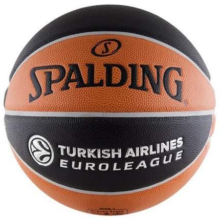 Баскетбольный мяч Spalding Euroleague Offical TF-1000 74-538Z №7 brown