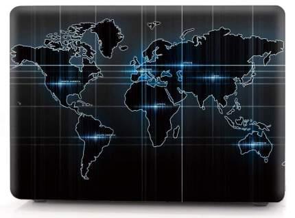 "Чехол для Macbook Pro 13"" i-Blason Cover A1706/1708 tehnology world map"