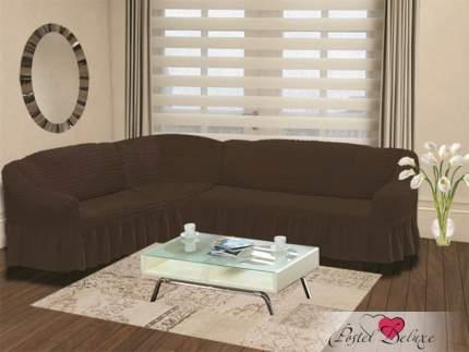 Чехол на диван BULSAN угловой Цвет: Коричневый