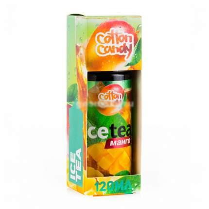 Жидкость для электронных сигарет Cotton Candy Ice Tea манго 120 мл  0 мг