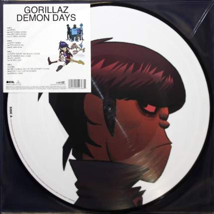 Виниловая пластинка Demon Days (Limited Edition)(Picture Disc)(2LP) Gorillaz