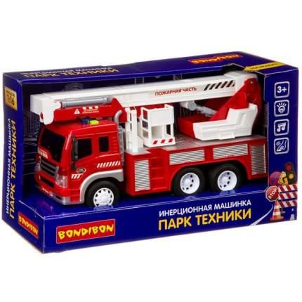 """Инерционная машинка Bondibon """"Парк техники. Пожарная машина"""""""
