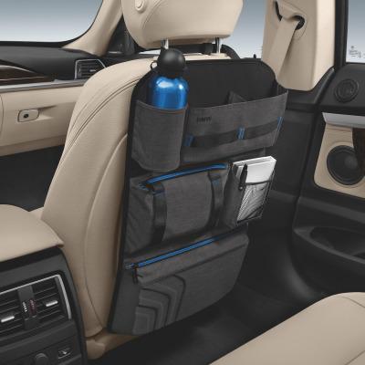 Сумка для спинки сиденья BMW 52122406212 anthracite/blue