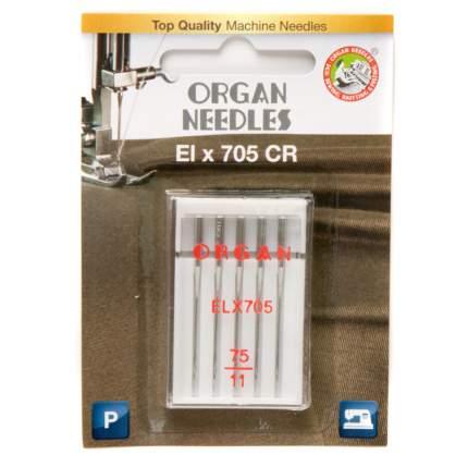 Иглы Organ ELx705 CR 5/75 Blister