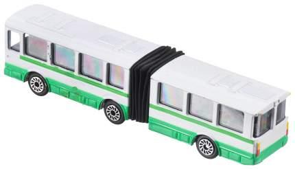 Автобус троллейбус с резинкой 12 см Технопарк
