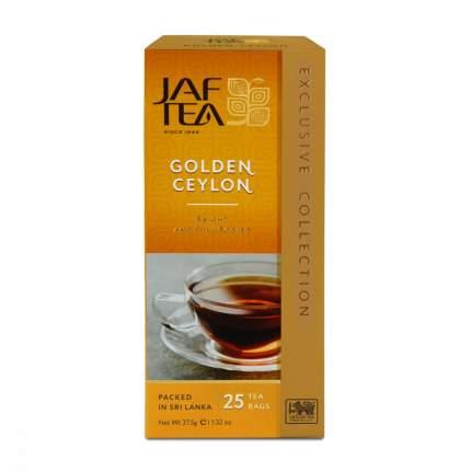 Чай Jaf Tea Golden Ceylon черный 25 пакетиков