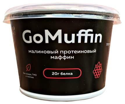 Маффин Vasco GoMaffin малиновый протеиновый 54 г