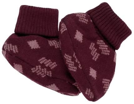Пинетки Voksi Double Knit New Nordic Red 6-12 М, 11007216
