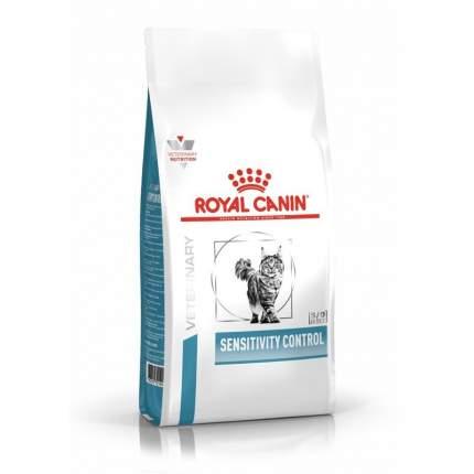 Сухой корм для кошек ROYAL CANIN Sensitivity Control, при пищевой аллергии,утка, 0,4кг